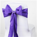 Chair Sash (Polyester) - Purple