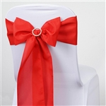 Chair Sash (Polyester) - Red
