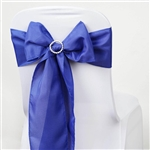 Chair Sash (Polyester) - Royal Blue