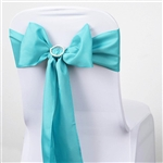 Chair Sash (Polyester) - Turquoise