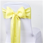 Chair Sash (Polyester) - Yellow