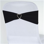 Chair Sash (Spandex) - Black