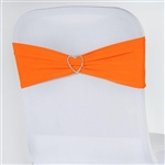 Chair Sash (Spandex) - Orange
