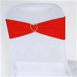 Chair Sash (Spandex) - Red