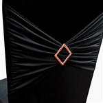 Diamond Buckle (for chair sash) - Red Diamond