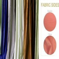 Satin Dupioni Fabric By yard