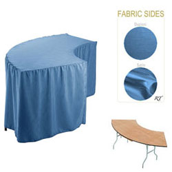 Satin / Dupioni Serpentine Tablecloth (4830 Model)
