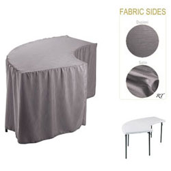 Satin / Dupioni Serpentine Tablecloth (6630/3096 Model)