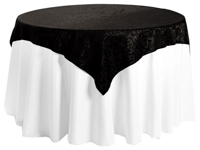 "54"" x 54"" Square Premium Somerset Tablecloth"
