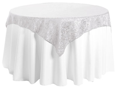 "60"" x 60"" Square Premium Somerset Tablecloth"
