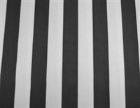 "Premium Stripe 60"" x 120"" Rectangular Tablecloth - Square Corners"