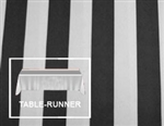 "Premium Stripe Table Runner 12""x120"""