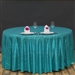 "120"" Round Grand Duchess Sequin Tablecloth – Turquoise"