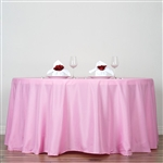 "Econoline Pink 120"" Round Tablecloth"