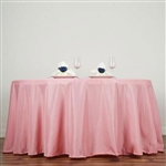 "Econoline Rose Quartz 132"" Round Tablecloth"