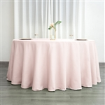 "Econoline Blush 132"" Round Tablecloth"