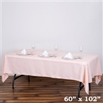 Econoline Blush Tablecloth 60x102""