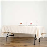 Econoline Beige Tablecloth 60x102""