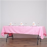 Econoline Pink Tablecloth 60x102""
