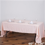 Econoline Blush Tablecloth 60x126""