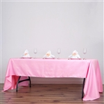 Econoline Pink Tablecloth 60x126""
