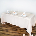 Econoline Blush Tablecloth 72x120""