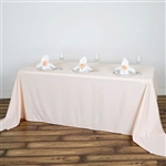 Econoline Blush Tablecloth 90x132""