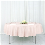 "Econoline Blush 90"" Round Tablecloth"