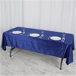 "60"" x 102"" Econoline Velvet Rectangle Tablecloth - Royal Blue"