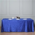 "90"" x 156"" Econoline Velvet Rectangle Tablecloth - Royal Blue"