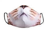 The Kitty Print Poly/Cotton Masks - 25-Pack