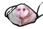 The Pig Print Poly/Cotton Masks - 25-Pack