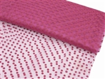 "Dots The Way I Like It Tulle - Fushia 60""x10yards"