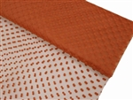 "Dots The Way I Like It Tulle - Orange 60""x10yards"