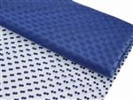 "Dots The Way I Like It Tulle - Royal Blue 60""x10yards"