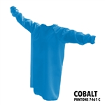 Protective / Isolation Gowns - Pack of 25 - Cobalt