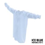 Protective / Isolation Gowns - Pack of 25 - Ice Blue