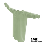 Protective / Isolation Gowns - Pack of 25 - Sage