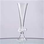 "13"" Trumpet Pilsner Glass Floral Vase Centerpiece For Wedding Event Table Décor - Pack of 4"