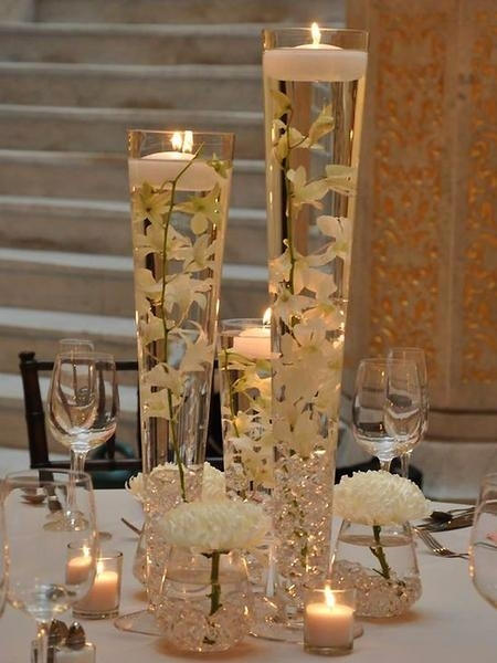 28 Tall Trumpet Heavy Duty Glass Vase Party Decoration