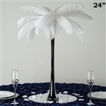 "12/Set 24"" Eiffel Tower Vases (Black)"