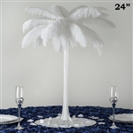 "12/Set 24"" Eiffel Tower Vases (White)"