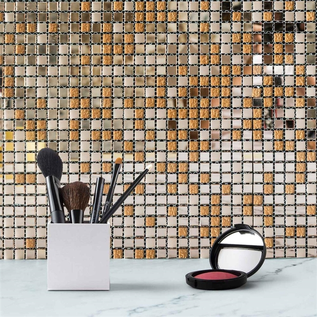 gold mirror wall decor.htm rose gold backsplash glass mosaic mirror wall tiles  backsplash glass mosaic mirror wall tiles