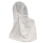 Polyester Universal Chair Cover - White