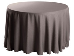 Exceptionnel Faux Burlap Round Tablecloths