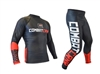 SALE! Combat Corner Grappling Spats & Rash Guard Set