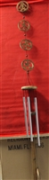 Long Chinese Symbol Wind Chimes Model 18388