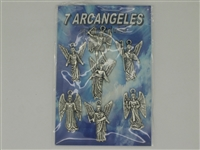 Siete Arcangeles Amulet - (Prayer Included) (Pack of Seven)