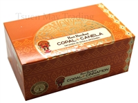 COPAL+CINAMMON (Canela) Hari Darshan Incense Stick (BOX of 12x15 sticks)