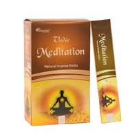 Vedic Meditation Natural Incense Sticks (Box of 12 X 15 grams)